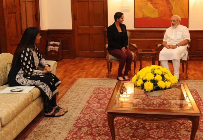 Sania_Mirza_calls_on_PM_(15233089626)