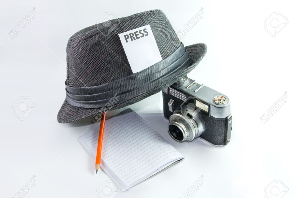 17333216-Iconic-Symbol-of-Journalist-or-Reporter-Stock-Photo
