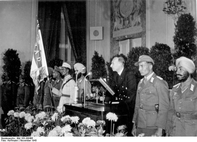 Berlin, Feier der Zentrale Freies Indien
